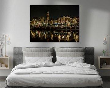 Breda - Haven by Night van I Love Breda