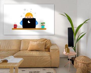 Thuis werken von Digital Art design