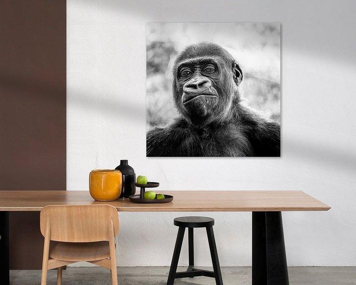 Beispiel: Wer ist der Affe? von Ines van Megen-Thijssen