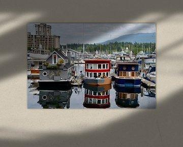Woonboten Vancouver van Marcel Schouten
