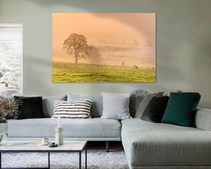 Sfeerimpressie: Foggy Morning van Ellen van den Doel