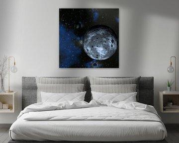 cosmos_blue van Dirk Driesen