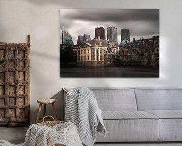 Den Haag: Mauritshuis, torentje, hofvijver en ministeries van Robert-Jan van Lotringen