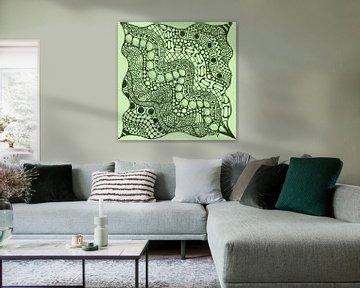Zentangle Kunst von Anja  Bulté