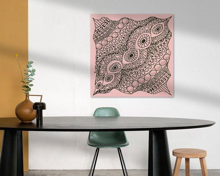 Sfeerimpressie: Zentangle Kunst van Anja  Bulté