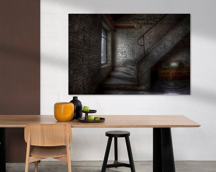 Sfeerimpressie: Trappen (Urbex) van Eus Driessen