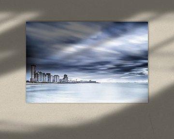 Skyline Vlissingen van Tonia Beumer