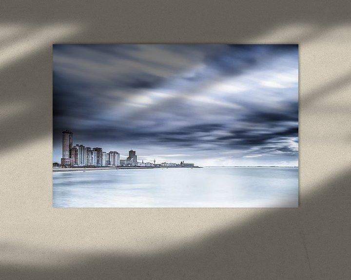 Sfeerimpressie: Skyline Vlissingen van Tonia Beumer