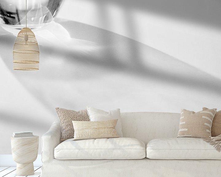 Sfeerimpressie behang: Abstract 'Shining' van Greetje van Son