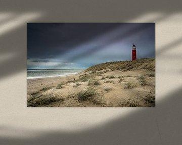 Der Eierland-Leuchtturm auf Texel von Ricardo Bouman