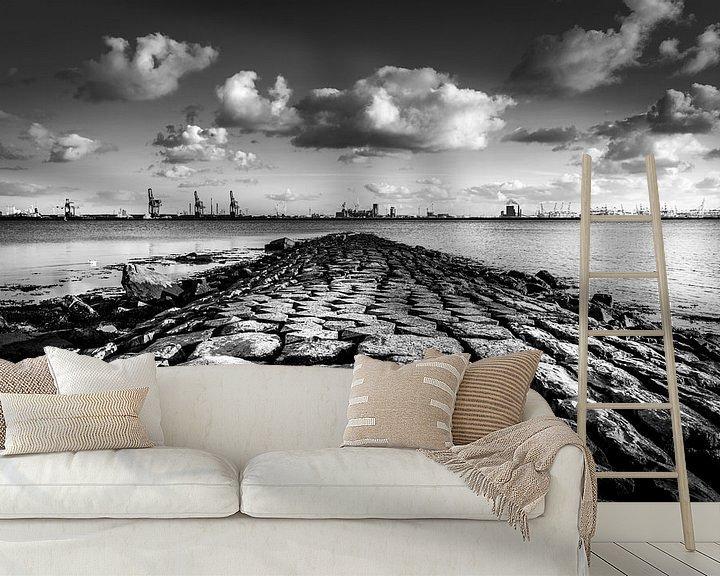 Sfeerimpressie behang: Aantrekkingskracht van Sandra Kuijpers