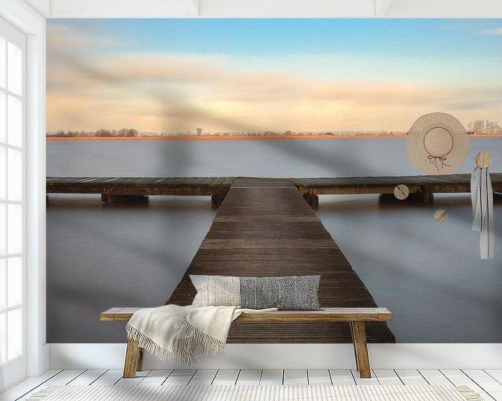 Sfeerimpressie behang: T-Jetty Schildmeer van R Smallenbroek