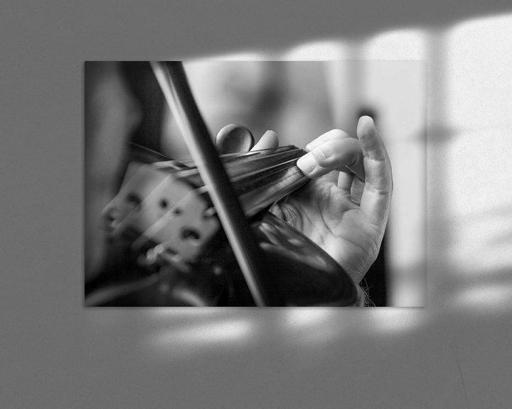 Sfeerimpressie: De juiste snaar raken van Ruud Keijmis