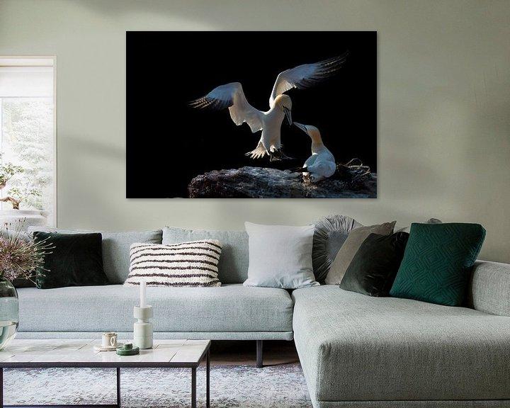 Sfeerimpressie: Ontmoeting (Jan van Gent) van Ronald van Dijk