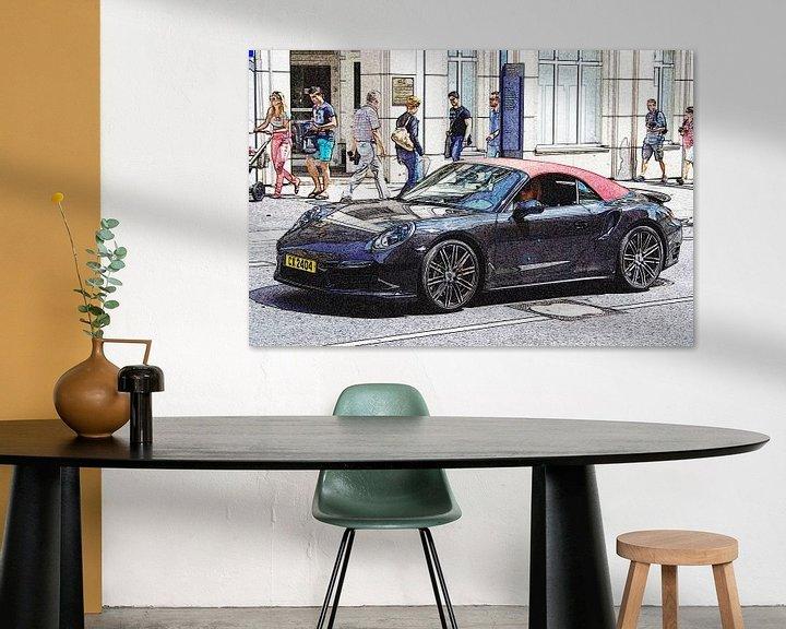 Beispiel: Porsche 911 Cabriolet von Pieter van Dijken