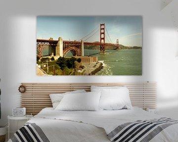 Golden Gate Bridge van Marek Bednarek