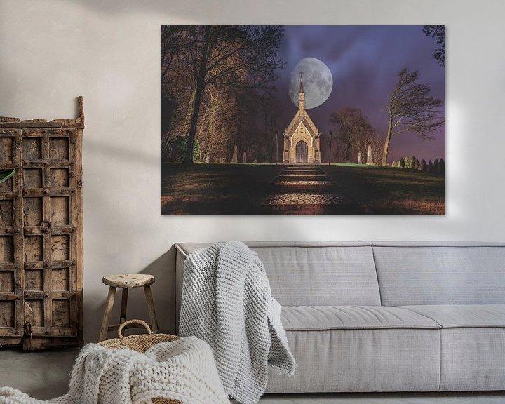 Sfeerimpressie: Een mooie nacht in Brakel (Belgie) van Bjorn Dockx