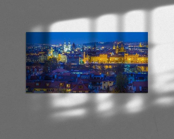 Sfeerimpressie: Uitzicht over de oude stad in Praag, Tsjechië - 4 van Tux Photography