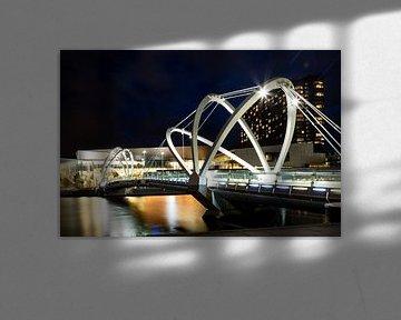 Seafarers brug in Melbourne, Australie van Marcel van den Bos