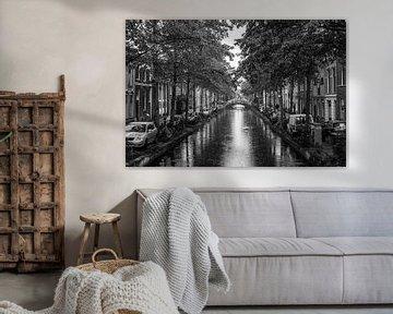 Canal in Delft von Alex van Doorn
