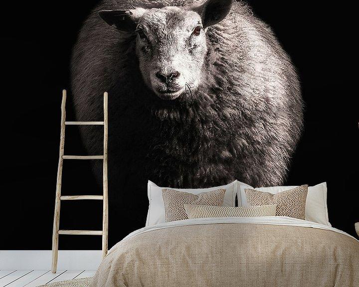 Beispiel fototapete: Schaf von Ines van Megen-Thijssen