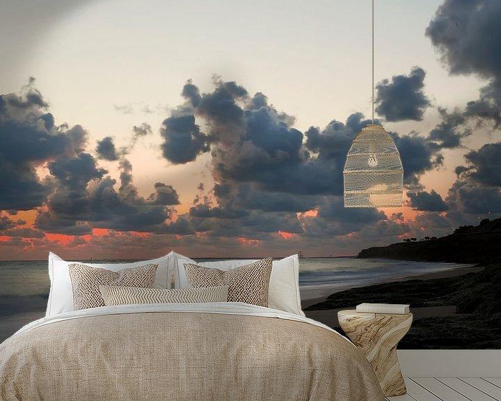 Impression: Zonsondergang bij Palais sur Mer sur Martijn Smit