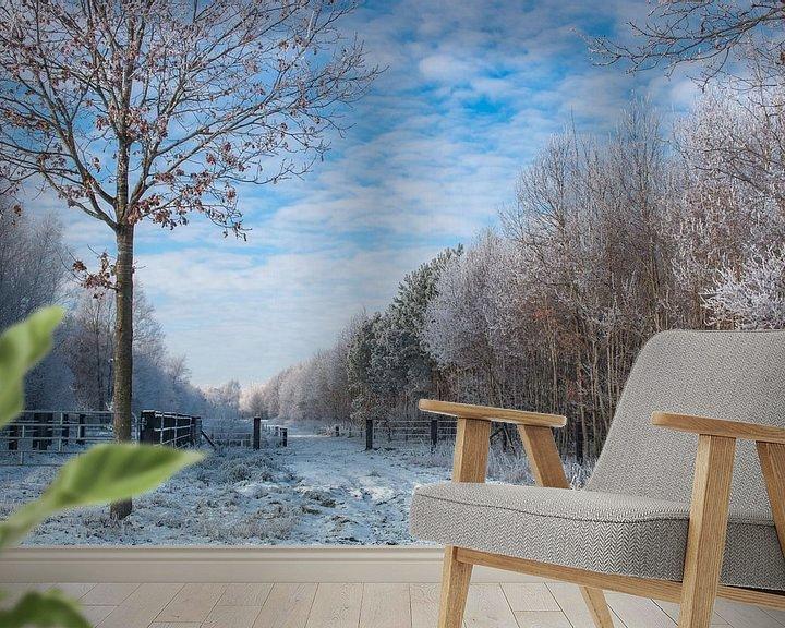 Impression: winterlandschap  sur Jan  Sterken