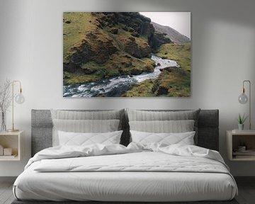 Landschap in IJsland van Thea.Photo