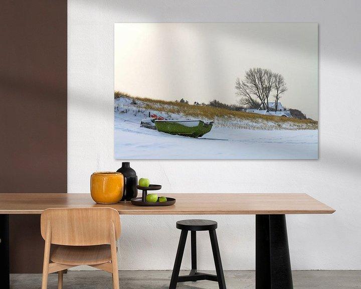 Impression: Winter on shore of the Baltic Sea sur Rico Ködder