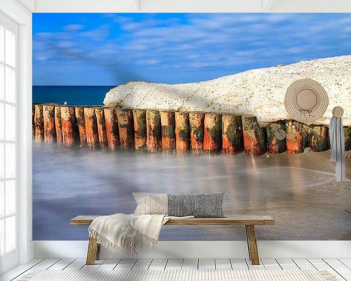 Beispiel fototapete: Winter an der Küste der Ostsee von Rico Ködder