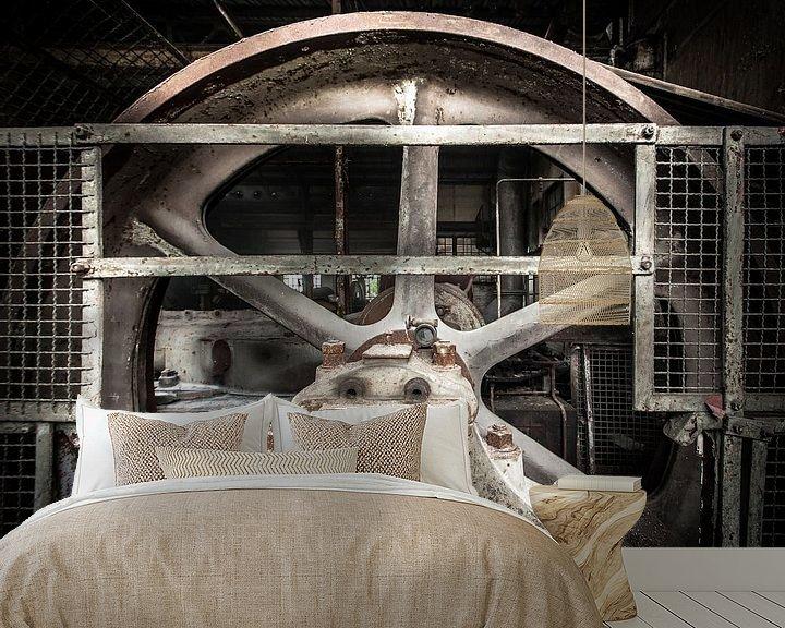 Sfeerimpressie behang: Wheel of fortune van Olivier Photography