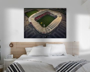 Afas Stadion Alkmaar van Mario Calma