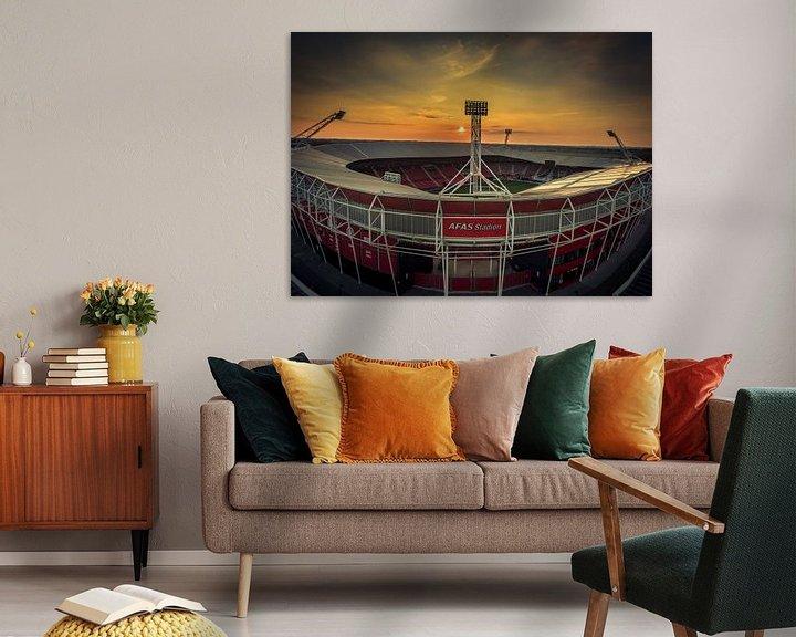 Beispiel: Afas Stadion Alkmaar von Mario Calma