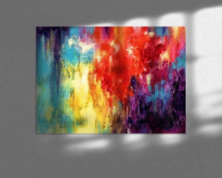 Sfeerimpressie: Rainbow Rain 3 van Maria Kitano