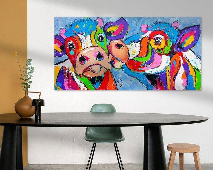 Beispiel:  Großer Kuss von Vrolijk Schilderij