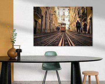 Tram à Lisbonne sur Niels Eric Fotografie