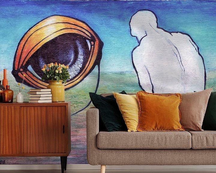 Sfeerimpressie behang: Ontmoeting van Kuba Bartyński