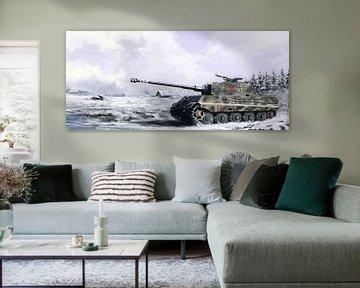 Tiger II van Wouter Florusse