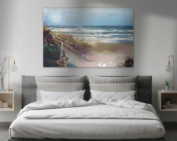 het strand van ijmuiden   von MD JO