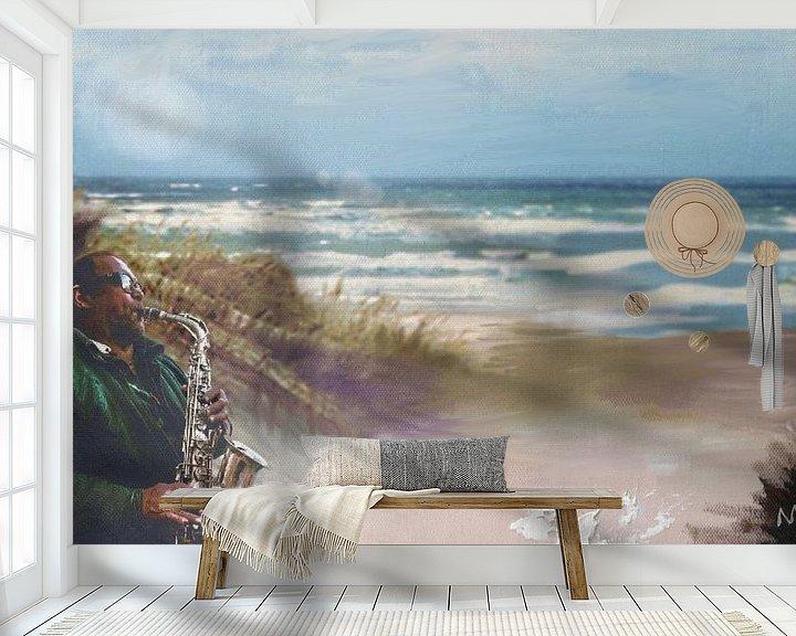 Beispiel fototapete: het strand van ijmuiden   von MD JO