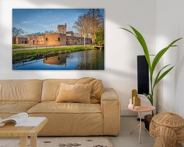 Herkenbosch Kasteel Daelenbroek (1326) Midden Limburg Nederland, Hotel von Twan van den Hombergh