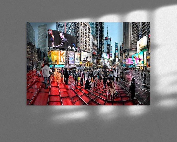 Beispiel: New York Times Square von Michel Groen