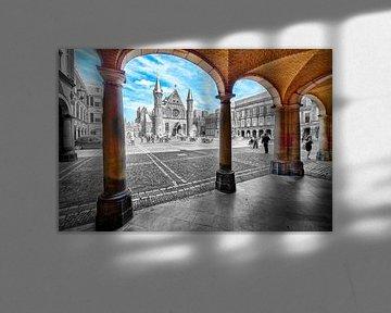 Binnenhof Den Haag von Michel Groen