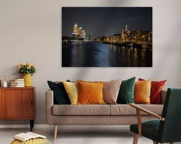 De Amstel in Amsterdam  van Edwin Butter
