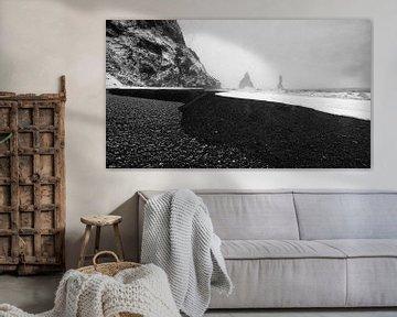 Koud IJsland; Waar sneeuw, lava zand en water elkaar ontmoeten.