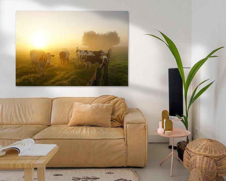 Sfeerimpressie: Landschap met dieren van Dirk van Egmond