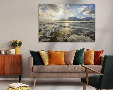 Zeeschuim aan de kust van Dirk van Egmond