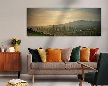Benidorm panorama van Jellie van Althuis