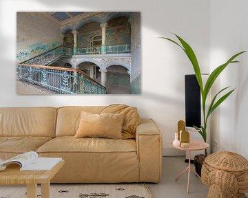 Stairs of Beelitz von Truus Nijland