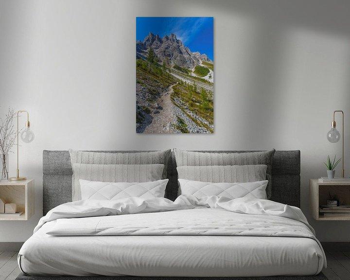 Sfeerimpressie: De Sextener Rotwand in de Dolomieten in Italië - 1 van Tux Photography
